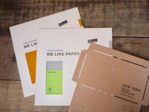 テンプレートを使った封筒の作り方|Jamie&Lucas