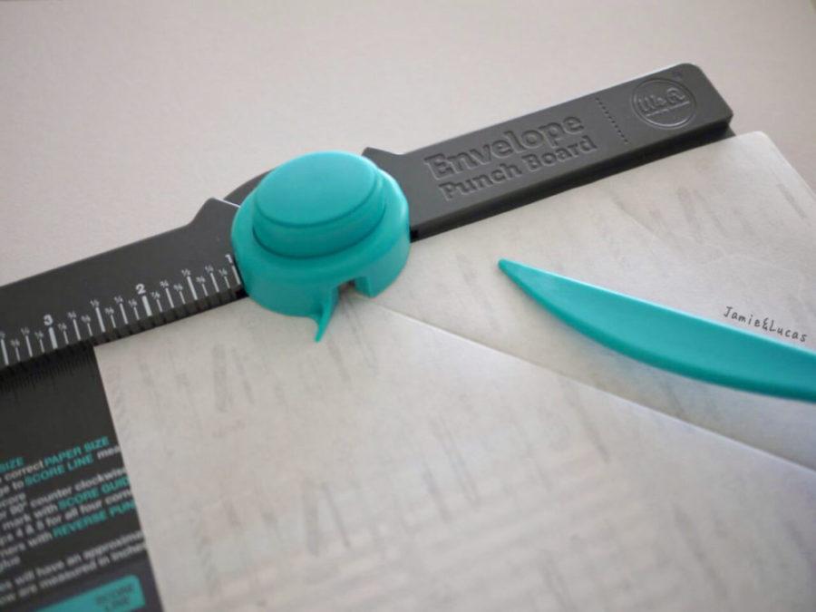 エンベロープパンチボードを使った封筒の作り方|ジェイミールーカス