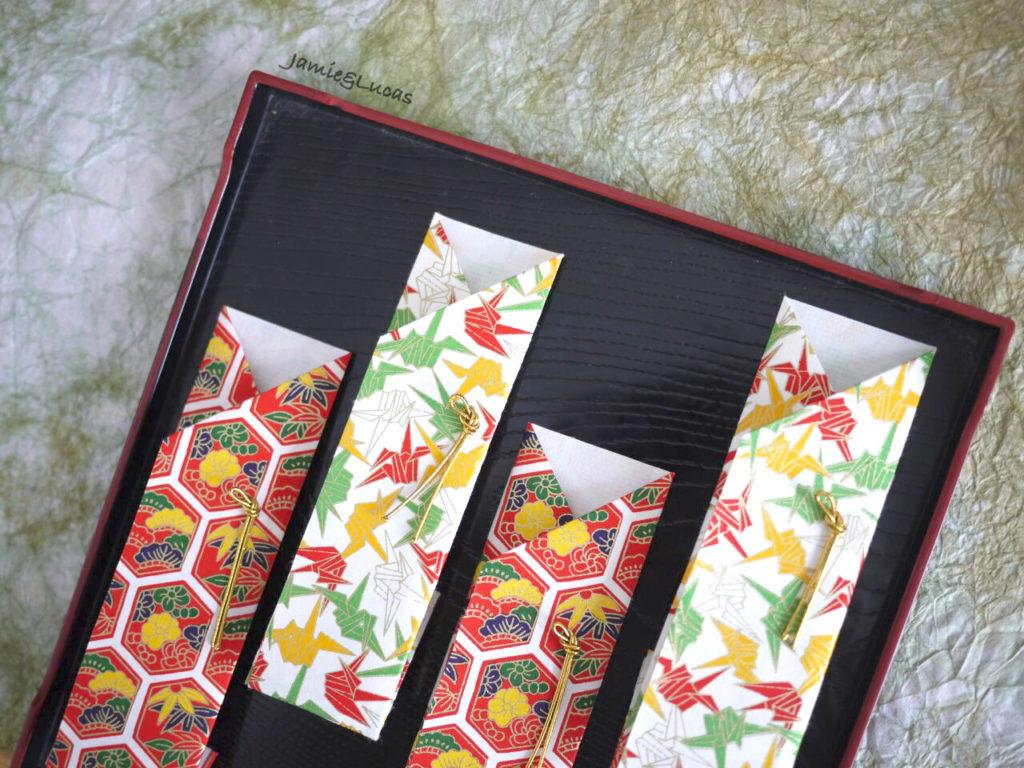 折り紙1枚で作る箸袋の作り方|ジェイミー・ルーカス