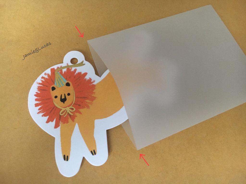 手作り封筒は簡単なのにおしゃれで可愛い!【トレーシングペーパー編】|Jamie&Lucas