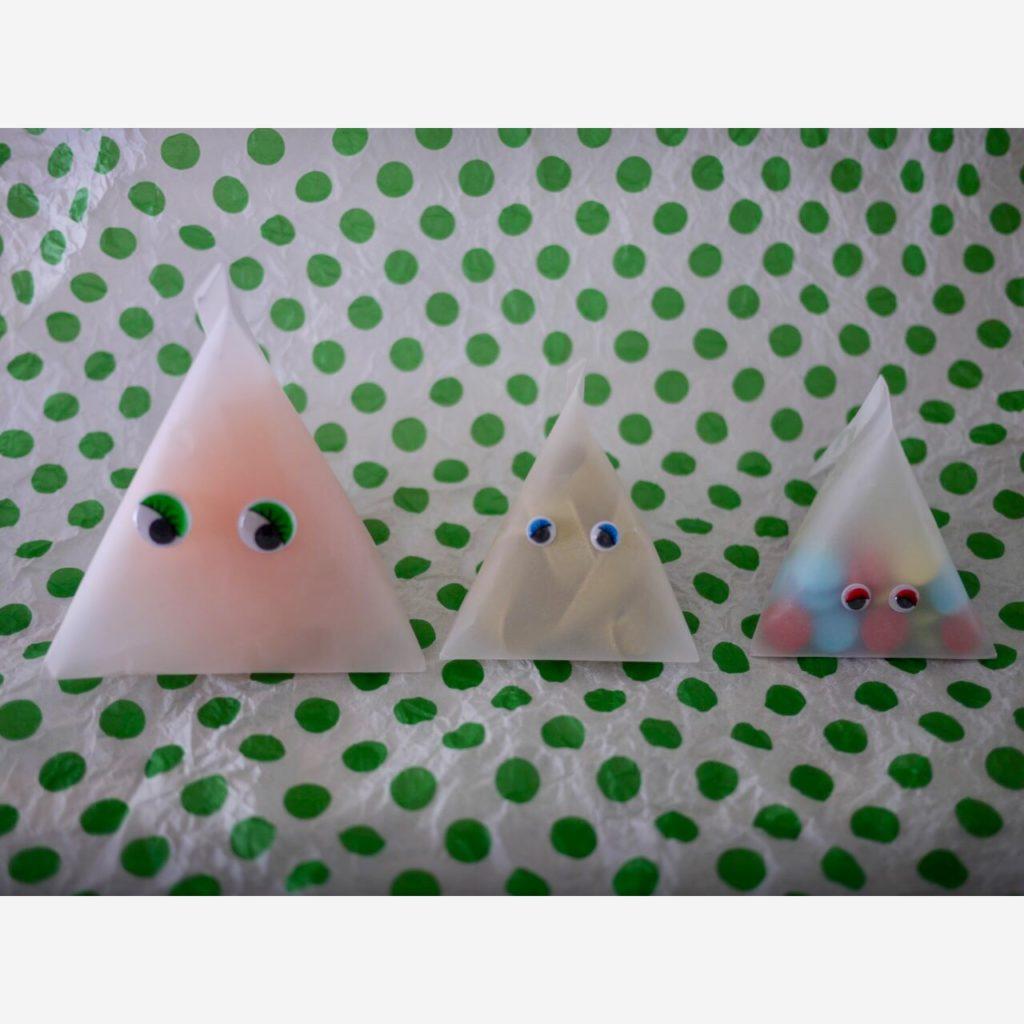 ハロウィンお菓子のラッピング|Jamie&Lucas