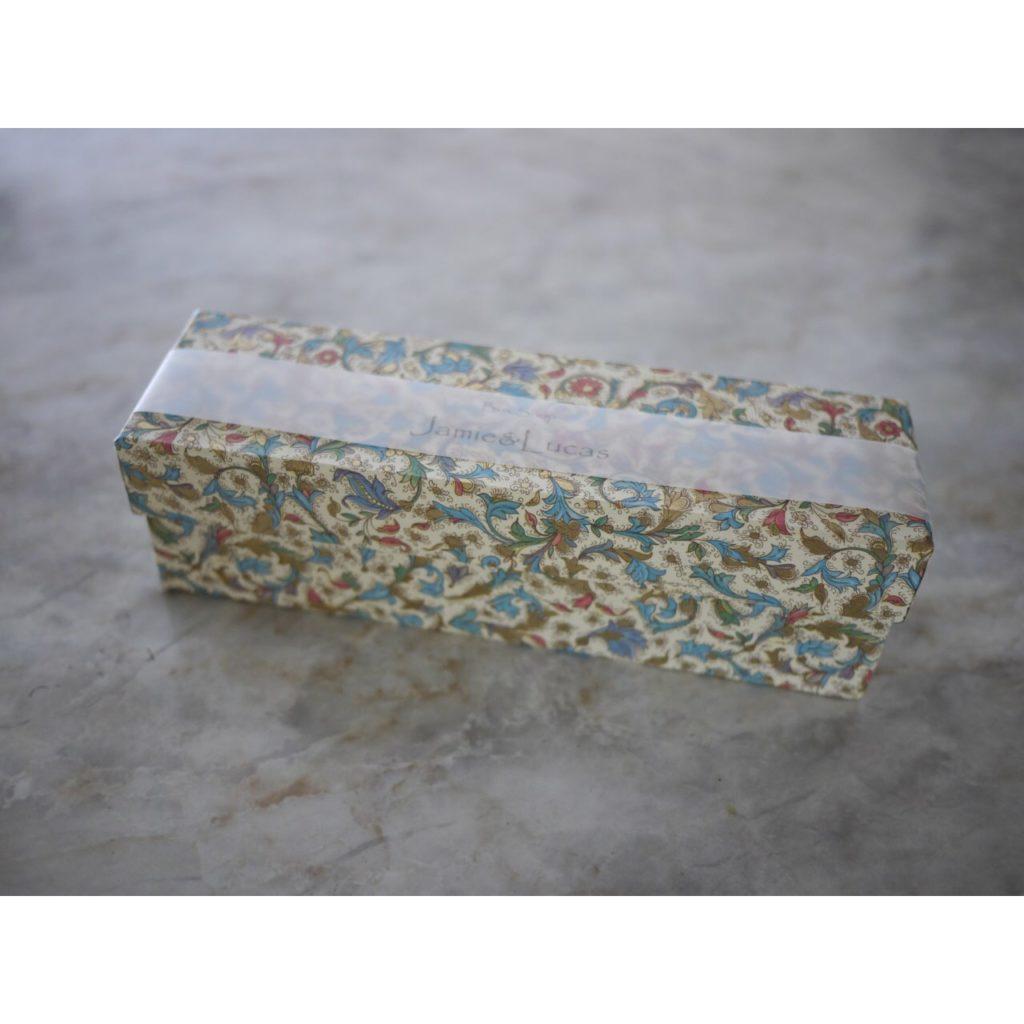 簡単な箱のラッピング方法|ジェイミールカス