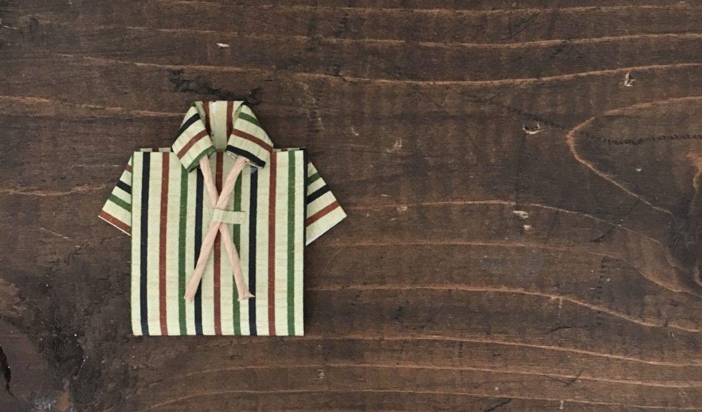 父の日ギフトはシャツ型ラッピング|Jamie&Lucas ジェイミールーカス