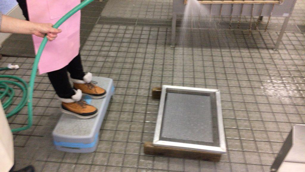 美濃太田に行くなら、美濃和紙の手漉き体験!@美濃和紙の里会館|Jamie&Lucas