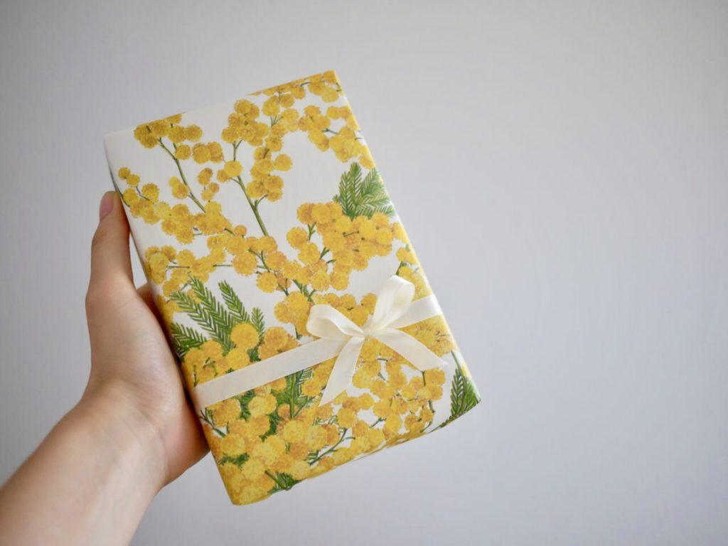 包装紙を使った簡単な箱の包み方|ジェイミールーカス