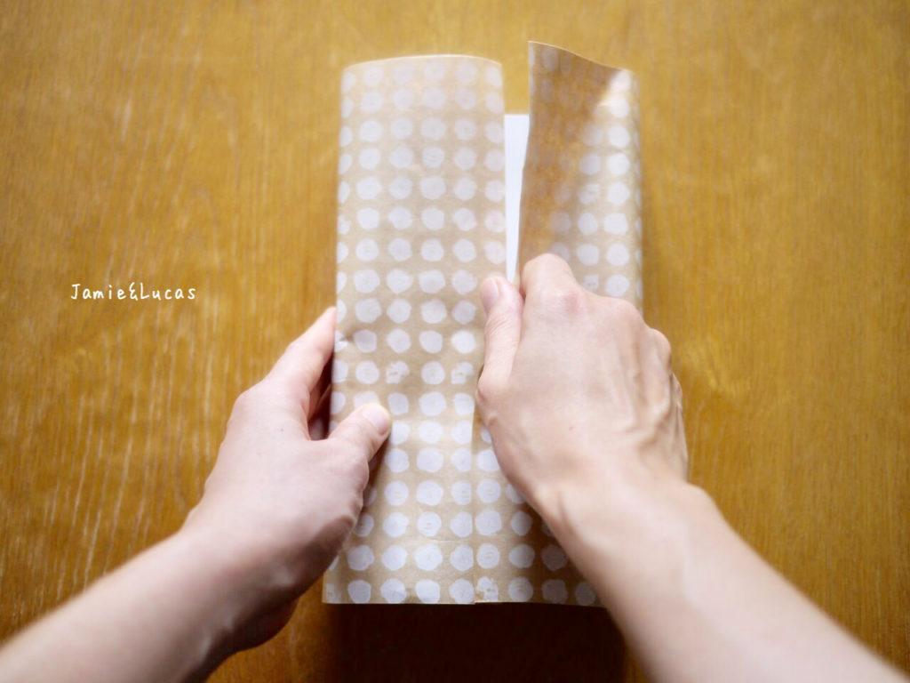 箱の簡単ラッピング|ジェイミールーカス