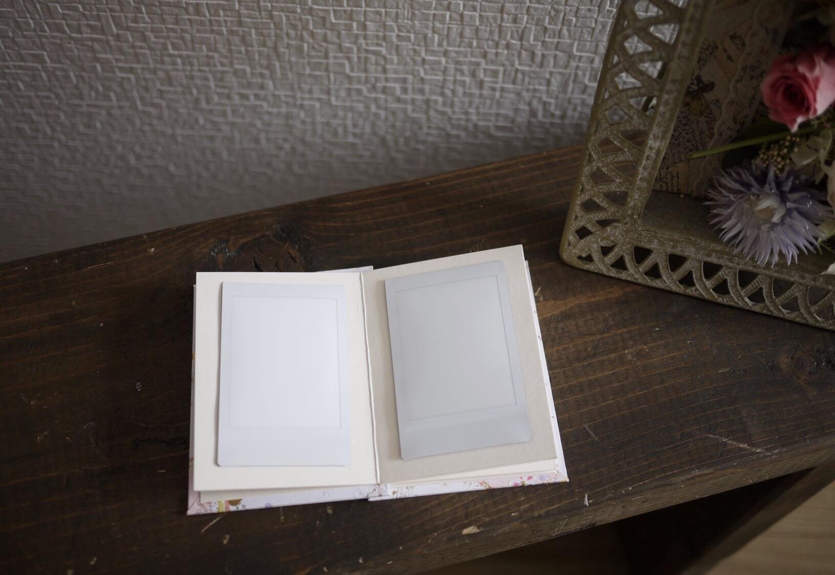 結婚式のチェキ写真用のアルバム|ジェイミールーカス
